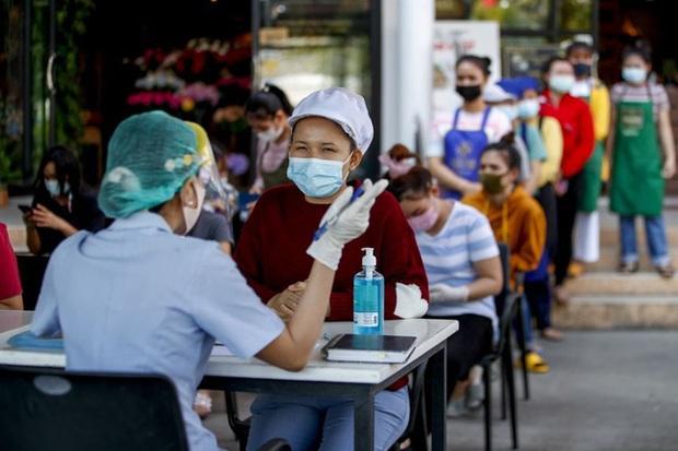 Thái Lan có thêm 110 ca nhiễm COVID-19 mới chỉ trong 1 ngày - Ảnh 1.