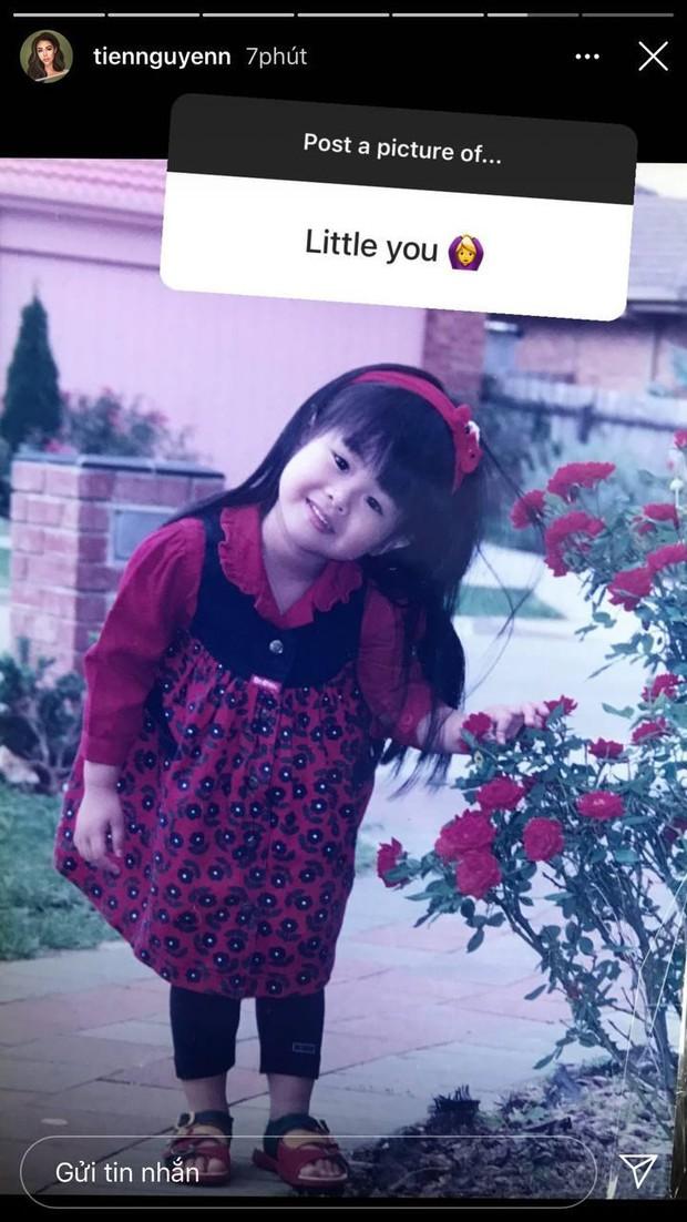 Con gái tỷ phú Johnathan Hạnh Nguyễn đu trend trả lời bằng ảnh đang hot, tiết lộ khoảnh khắc đáng yêu hồi bé - Ảnh 2.