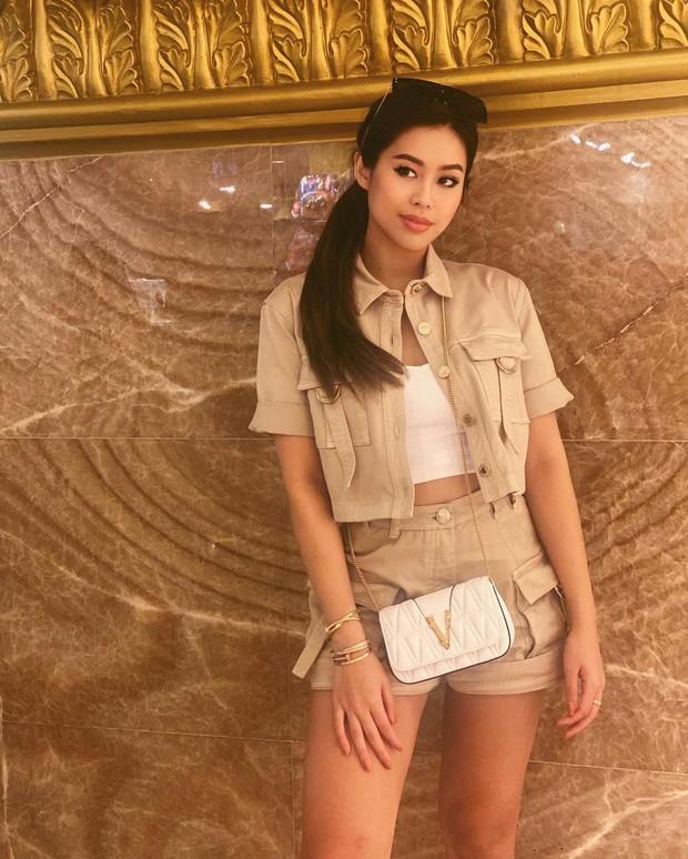 Con gái tỷ phú Johnathan Hạnh Nguyễn đu trend trả lời bằng ảnh đang hot, tiết lộ khoảnh khắc đáng yêu hồi bé - Ảnh 1.
