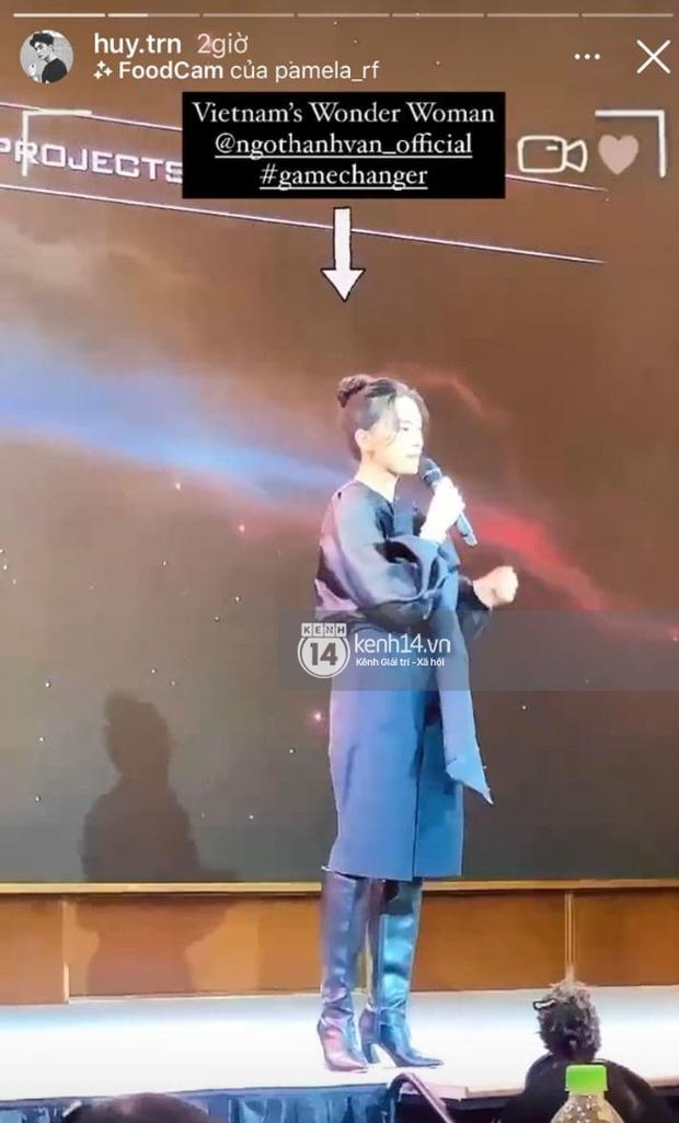 CEO Huy Trần từng công khai đến ủng hộ Ngô Thanh Vân tại họp báo, gửi lời cực ngọt qua story mà không mấy ai để ý - Ảnh 2.