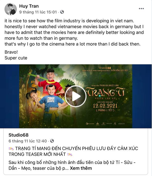 CEO Huy Trần từng công khai đến ủng hộ Ngô Thanh Vân tại họp báo, gửi lời cực ngọt qua story mà không mấy ai để ý - Ảnh 5.