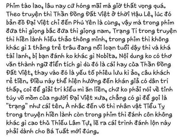 Tác giả Thần Đồng Đất Việt gay gắt phản đối phim Trạng Tí của Ngô Thanh Vân: Tiền bản quyền cũng sẽ lại tuôn vào túi bọn ác - Ảnh 4.