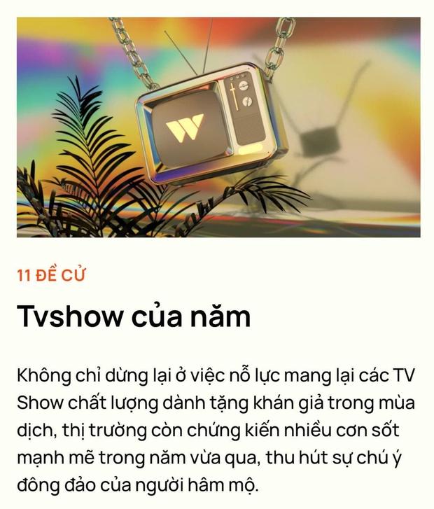 Rap Việt dẫn đầu đề cử TV show của năm tại WeChoice với số phiếu áp đảo, Ký Ức Vui Vẻ bất ngờ vươn lên hạng 2 - Ảnh 1.