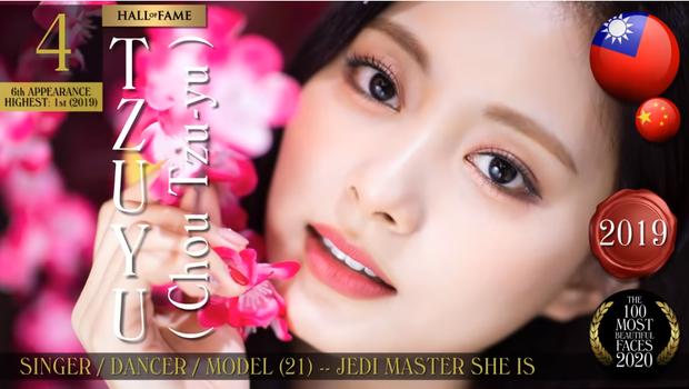 Vì đâu mà Lisa (BLACKPINK) vượt mặt Tzuyu (TWICE) trong Top 100 gương mặt đẹp nhất thế giới? - Ảnh 3.