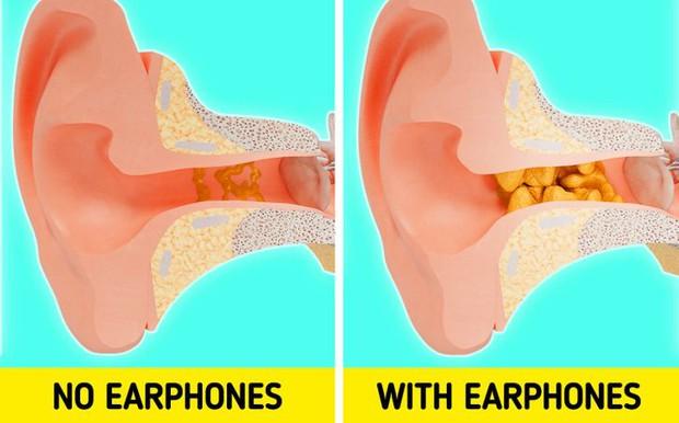 Điều gì sẽ xảy ra với cơ thể nếu bạn đeo tai nghe quá lâu? - Ảnh 3.