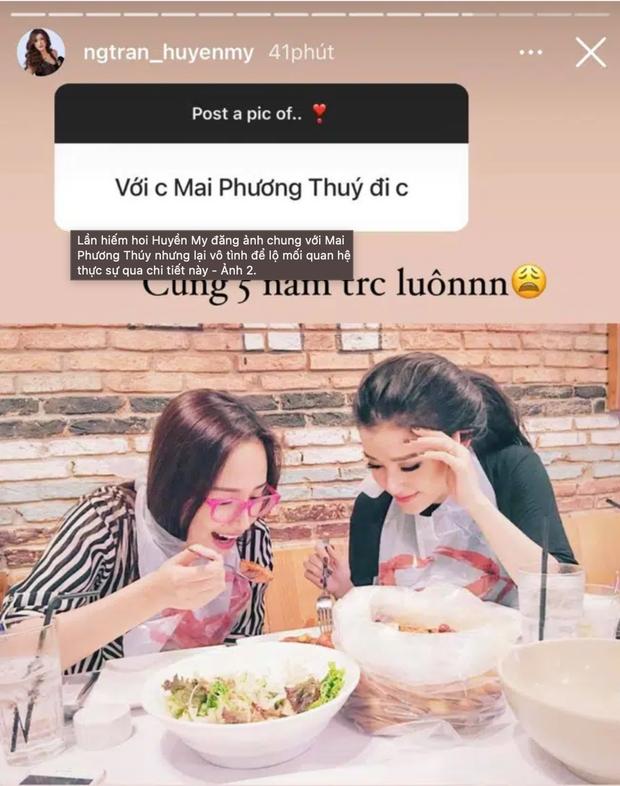 Hiếm hoi Huyền My mới đăng ảnh chụp cùng Mai Phương Thúy, thời điểm chụp ảnh vô tình tiết lộ mối quan hệ hiện tại? - Ảnh 2.