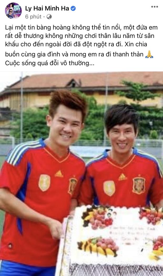 Đan Trường, Nhật Kim Anh và dàn sao Việt bàng hoàng, bật khóc nói lời tiễn biệt ca sĩ Vân Quang Long - Ảnh 12.