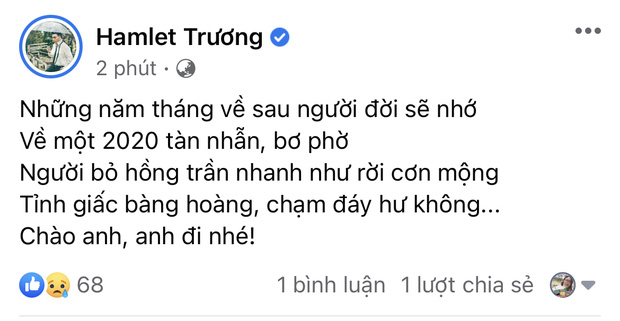 Đan Trường, Nhật Kim Anh và dàn sao Việt bàng hoàng, bật khóc nói lời tiễn biệt ca sĩ Vân Quang Long - Ảnh 9.