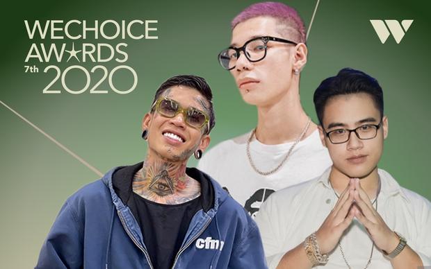 Dế Choắt thắng Rap Việt nhờ vote nhưng tại WeChoice thì MCK và GDucky mới nắm trùm với lượt đề cử gấp đôi ba lần - Ảnh 2.