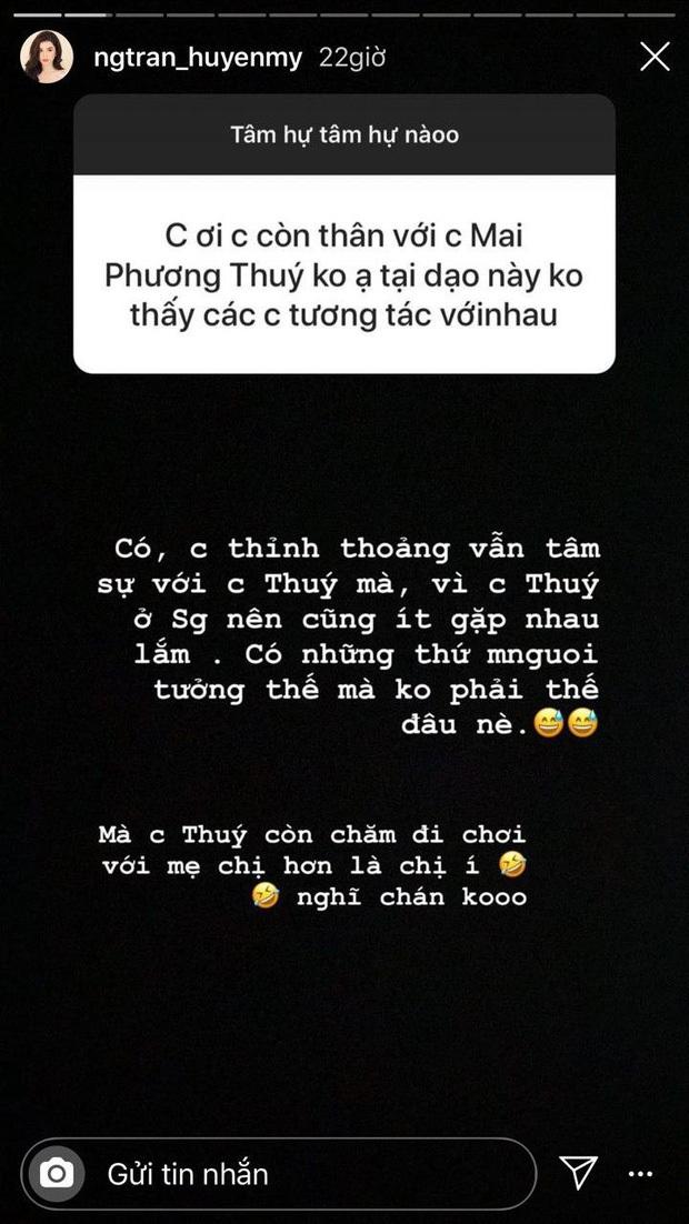 Hiếm hoi Huyền My mới đăng ảnh chụp cùng Mai Phương Thúy, thời điểm chụp ảnh vô tình tiết lộ mối quan hệ hiện tại? - Ảnh 3.