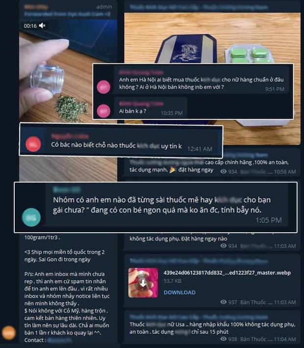 Cảnh báo: Tràn lan các group 18+ với nội dung nhạy cảm, tiềm ẩn nhiều nguy cơ lừa đảo, phạm pháp trên Telegram - Ảnh 8.