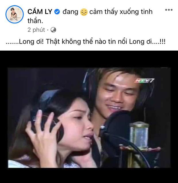 Xót xa hình ảnh Cẩm Ly bật khóc, ngừng quay chương trình khi nghe tin ca sĩ Vân Quang Long (1088) qua đời - Ảnh 5.