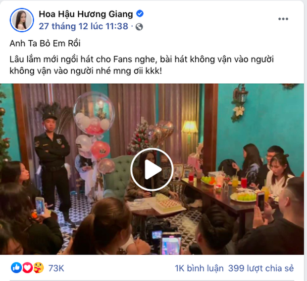 Hương Giang lâu lắm mới live Anh Ta Bỏ Em Rồi tặng fan nhưng lại niệm thần chú mong... đừng vận vào người! - Ảnh 3.