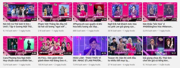 Tiết mục Thái Sơn Beatbox hóa Đen Vâu ở Gương Mặt Thân Quen bị cắt mất khi chiếu trên YouTube - Ảnh 1.
