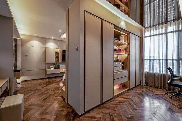 Đầu tư 5 tỷ, cặp vợ chồng biến nhà thô thành penthouse sang xịn mịn với style tối giản cực mê - Ảnh 15.