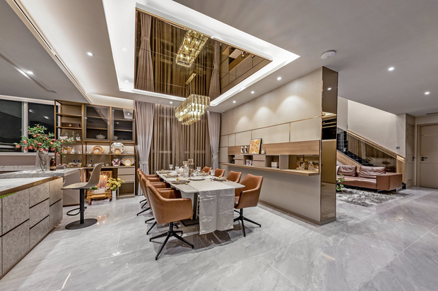 Đầu tư 5 tỷ, cặp vợ chồng biến nhà thô thành penthouse sang xịn mịn với style tối giản cực mê - Ảnh 6.