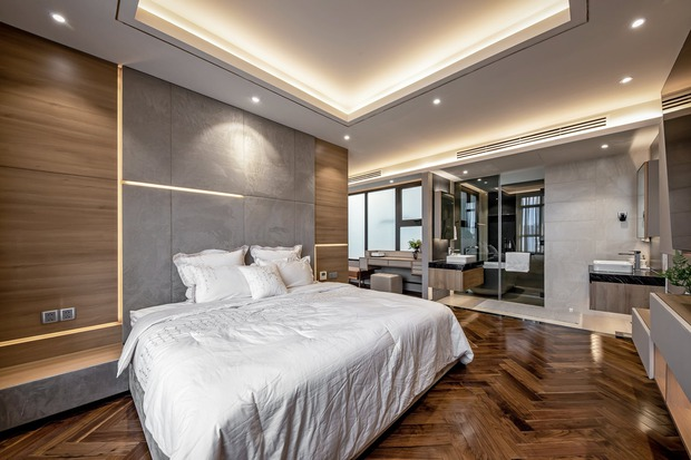 Đầu tư 5 tỷ, cặp vợ chồng biến nhà thô thành penthouse sang xịn mịn với style tối giản cực mê - Ảnh 13.