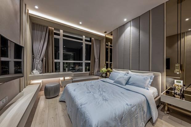 Đầu tư 5 tỷ, cặp vợ chồng biến nhà thô thành penthouse sang xịn mịn với style tối giản cực mê - Ảnh 10.