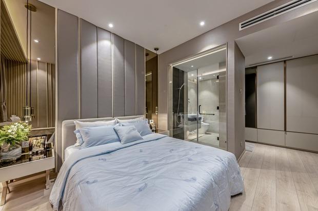 Đầu tư 5 tỷ, cặp vợ chồng biến nhà thô thành penthouse sang xịn mịn với style tối giản cực mê - Ảnh 11.