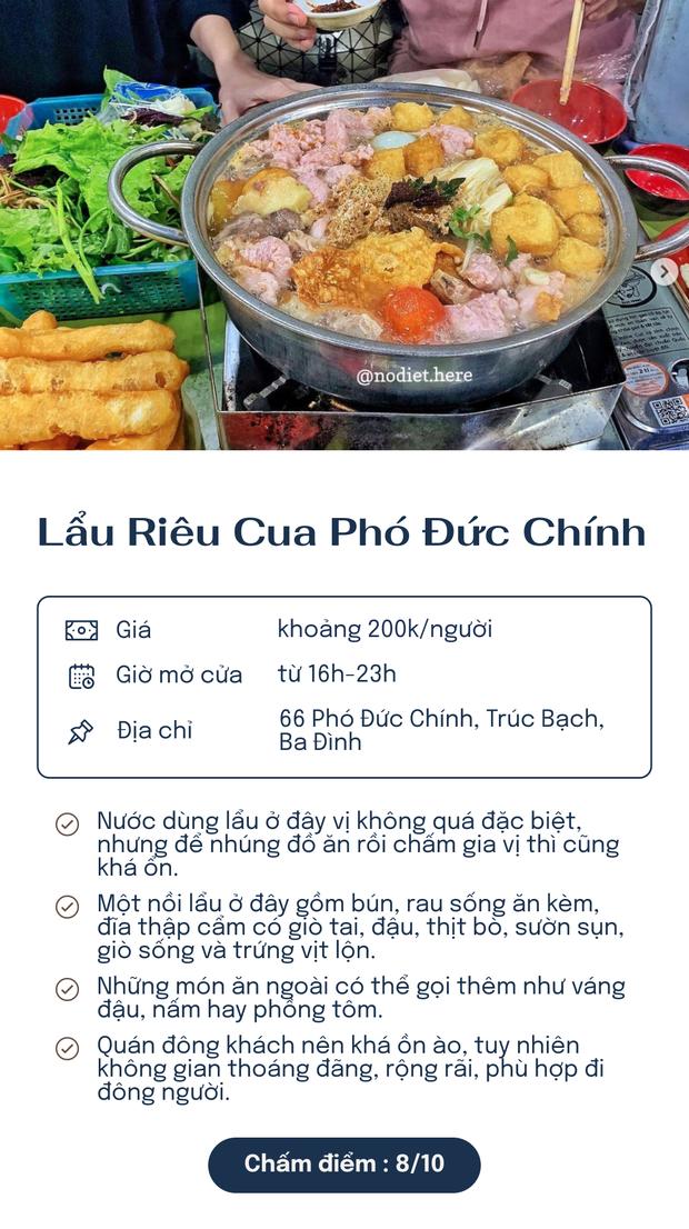 Chấm điểm 5 quán lẩu riêu nổi tiếng nhất Hà Nội: Xì xụp ngày đông rét cóng thì còn gì bằng! - Ảnh 4.