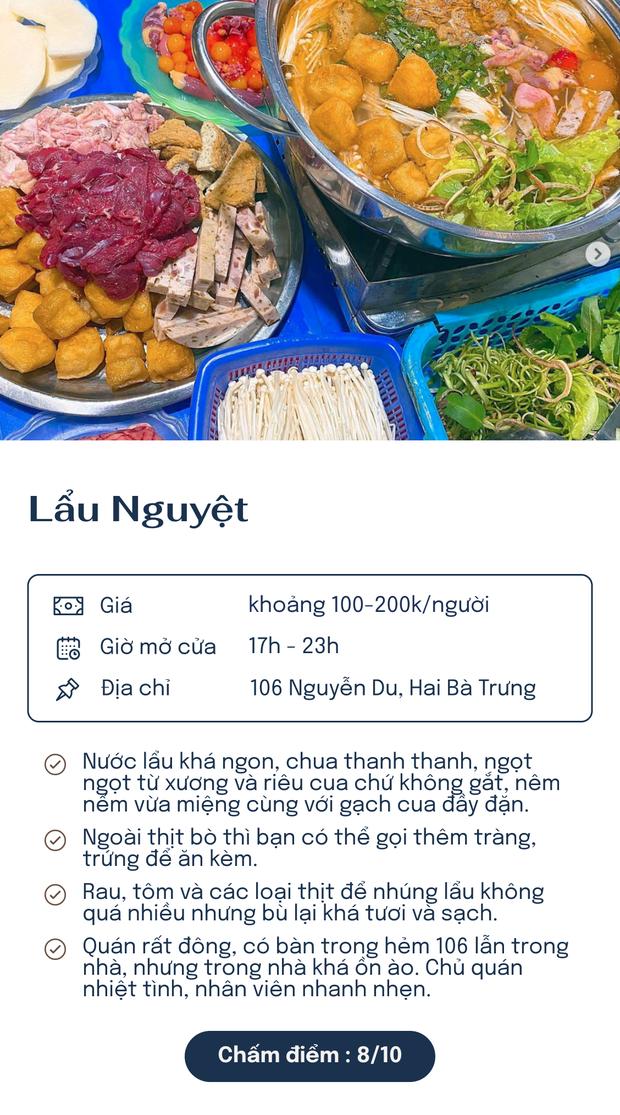 Chấm điểm 5 quán lẩu riêu nổi tiếng nhất Hà Nội: Xì xụp ngày đông rét cóng thì còn gì bằng! - Ảnh 5.
