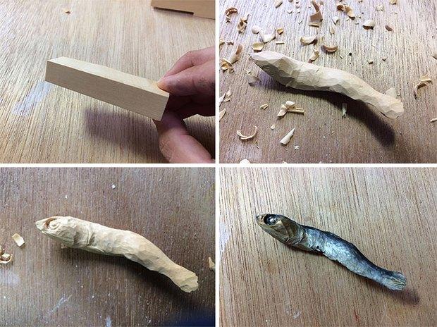 """Quy trình """"làm giả"""" đồ ăn siêu tinh xảo của nghệ nhân Nhật Bản: Càng xem càng bái phục vì chân thật quá! - Ảnh 1."""