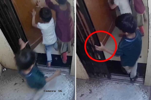 Ba đứa trẻ cùng đi thang máy, cậu bé 5 tuổi bị mắc kẹt lại ở cửa rồi tử vong thương tâm, cảnh tượng những giây cuối trước tai nạn gây ám ảnh - Ảnh 5.
