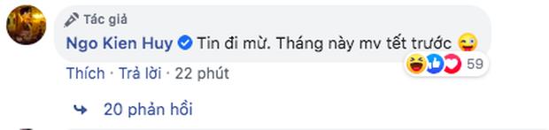 Giữa lúc các nghệ sĩ quan ngại dịch bệnh, Ngô Kiến Huy bất ngờ tuyên bố 4 tháng tung 4 MV, fan hoài nghi liền lập tức lên tiếng - Ảnh 3.