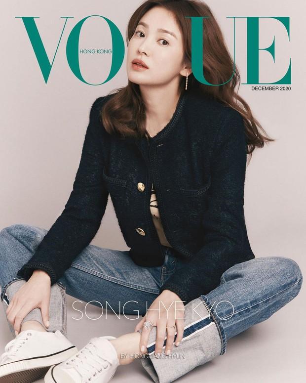 """Thì ra đây mới là ảnh tạp chí """"xịn mịn"""" của Song Hye Kyo: Choáng khi zoom cận visual, lộ diện nhân vật luôn gắn bó với cô hậu ly hôn - Ảnh 3."""