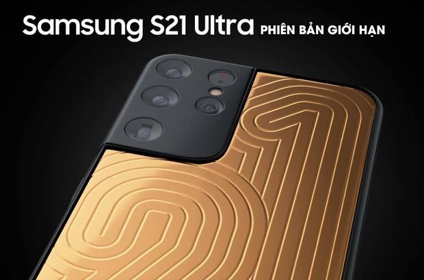 Ngắm Samsung Galaxy S21 Ultra phiên bản smartphone của nhà giàu, giá gần 2 tỷ đồng - Ảnh 1.