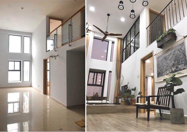 Nhà thiết kế ra tay cải tạo căn nhà trống với chi phí 180 triệu, dùng toàn đồ cũ mà thành quả mê ly lắm - Ảnh 3.