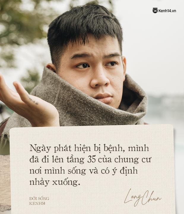Long Chun nhìn lại năm 2020: Suýt tự tử! - Ảnh 3.