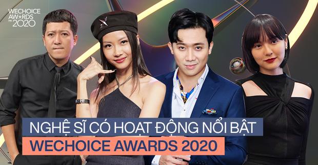 Diễn biến gay cấn tại WeChoice 2020: Trấn Thành có lượt đề cử gấp 4 lần Trường Giang, Hải Tú vừa debut đã vượt mặt Chi Pu và cả dàn mỹ nhân - Ảnh 2.