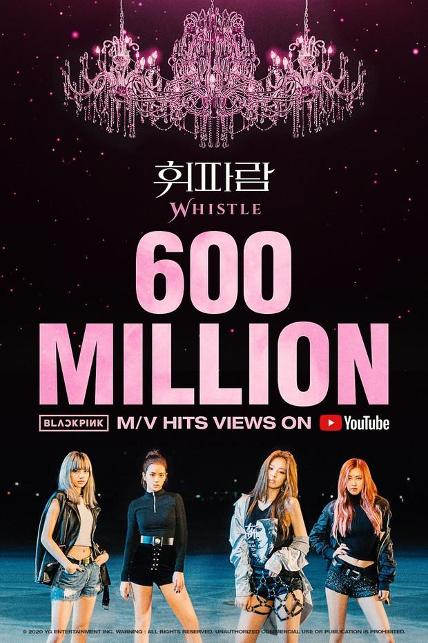 BLACKPINK chốt năm 2020 bằng 2 MV cán mốc 600 triệu views, nối dài kỷ lục không ai làm lại ở mảng girlgroup Kpop - Ảnh 1.