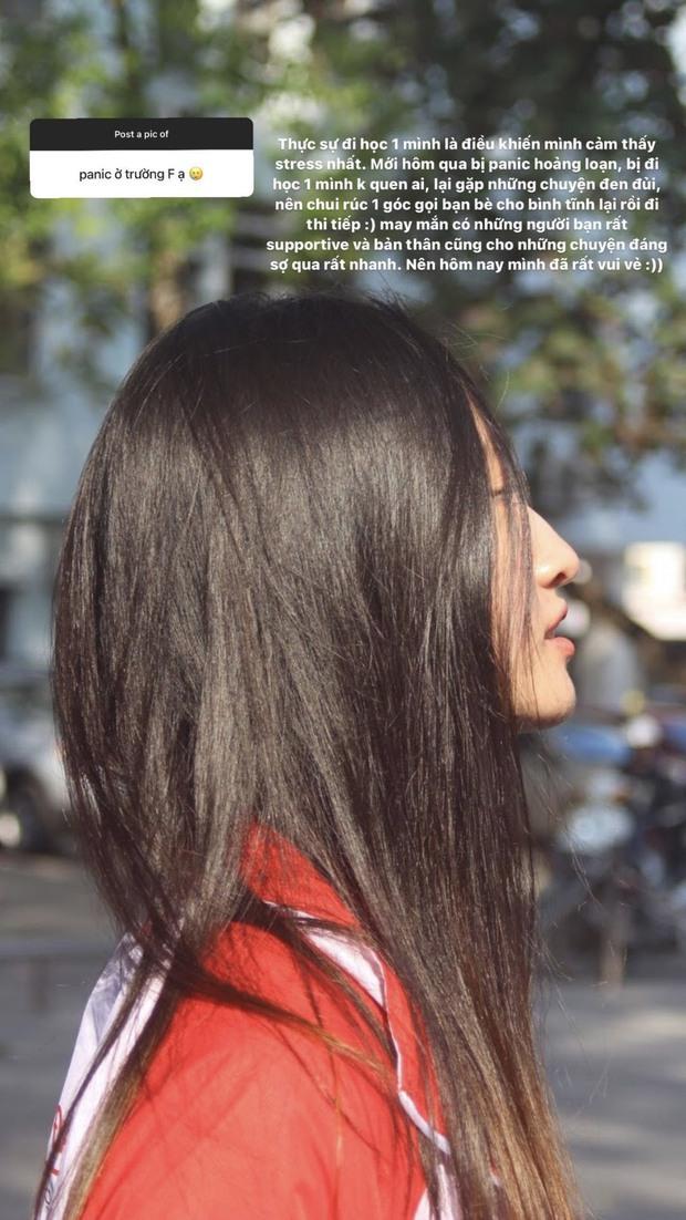 Hoa hậu Lương Thùy Linh thời đi học: Mặt mộc xinh xuất sắc, lên đại học từng stress vì lủi thủi chơi một mình - Ảnh 3.