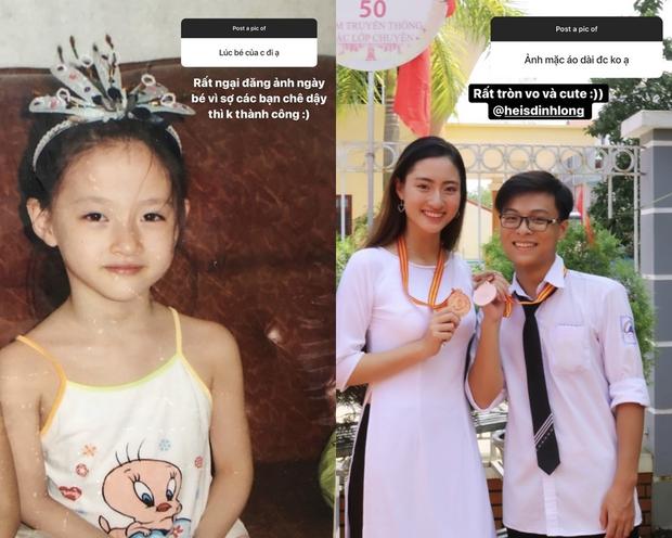 Hoa hậu Lương Thùy Linh thời đi học: Mặt mộc xinh xuất sắc, lên đại học từng stress vì lủi thủi chơi một mình - Ảnh 2.