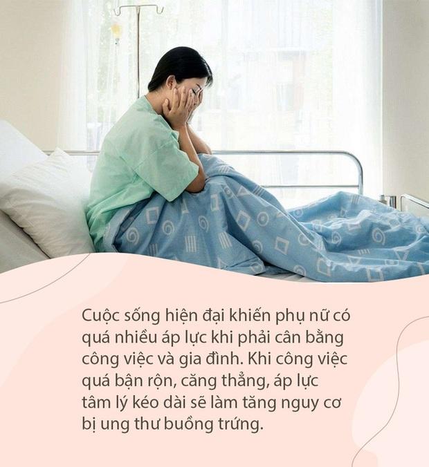 2 chị em chưa lập gia đình nhưng đã mắc ung thư buồng trứng, nguyên nhân có thể là do những thói quen dưới đây - Ảnh 2.