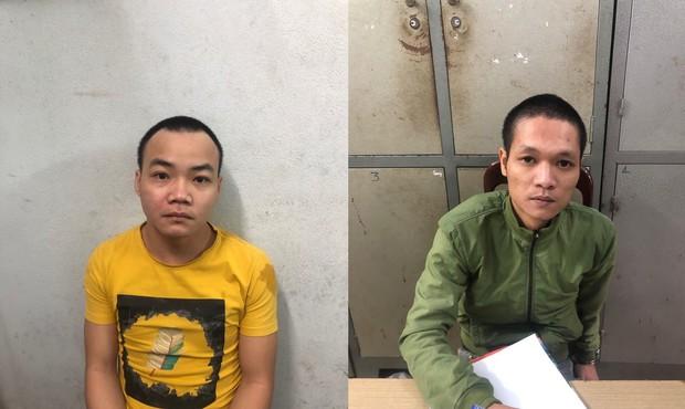 2 thanh niên ngáo đá đập phá hàng chục ô tô ở Đà Nẵng - Ảnh 2.