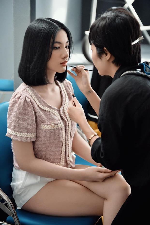 Tân Hoa hậu Đỗ Thị Hà đọ visual bên nhan sắc gây tiếc nuối nhất HHVN Cẩm Đan, netizen đau đầu vì khó chọn ai nhỉnh hơn - Ảnh 4.