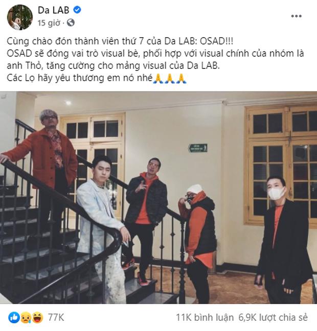 Trước OSAD, Da LAB tuyển cả OnlyC và Vũ làm thành viên mới nhưng sau đó mất hút, tiết lộ chỉ cần 1 tỉ là được gia nhập nhóm? - Ảnh 4.