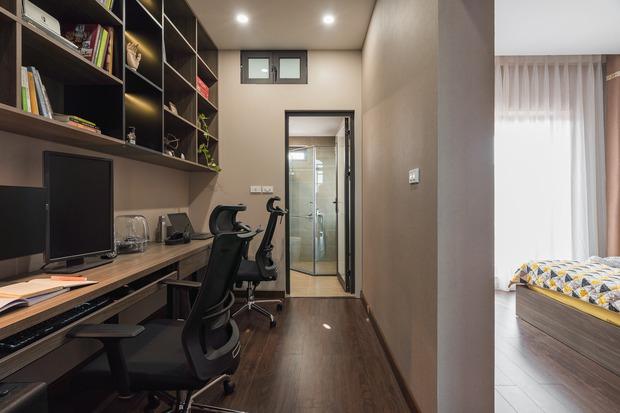 Đầu tư 200 triệu cải tạo phòng ngủ 20m2, vợ chồng kiến trúc sư thu về thành quả khiến ai cũng trầm trồ - Ảnh 9.