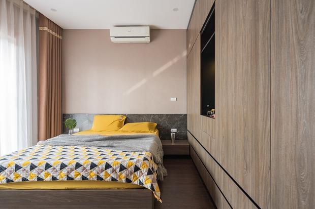 Đầu tư 200 triệu cải tạo phòng ngủ 20m2, vợ chồng kiến trúc sư thu về thành quả khiến ai cũng trầm trồ - Ảnh 4.