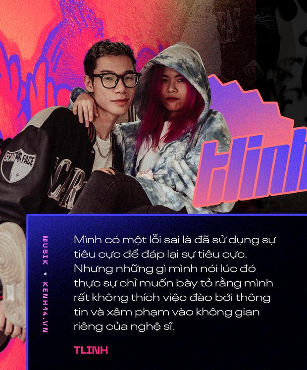 Cặp đôi MCK và Tlinh: Muốn biến mainstream trở nên Hip-hop hơn, thấy sai khi đã dùng tiêu cực để đáp lại tiêu cực - Ảnh 7.