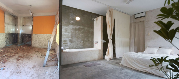 Chàng trai thuê căn nhà cũ, chi 100 triệu thiết kế theo style bệnh viện nhìn đâu cũng thấy trắng - Ảnh 1.
