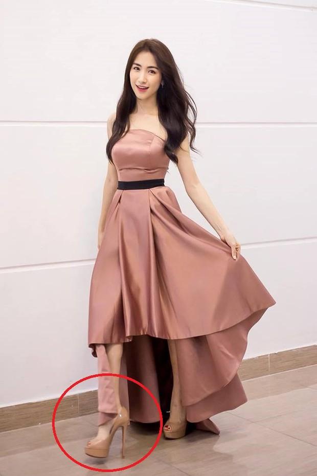 Bị lép vế khi đứng cạnh Hoa hậu Đỗ Thị Hà, Diệu Nhi liền có cách hack chiều cao lầy lội khiến ai nấy đều phải... cạn lời - Ảnh 4.