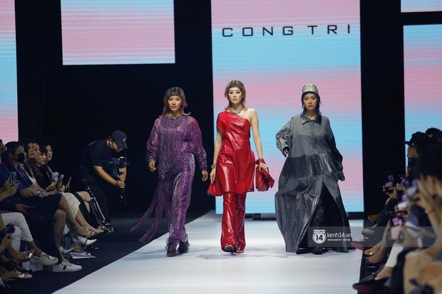 Dàn vedette toàn Hoa hậu khác tới nỗi không ai nhận ra, sốc nhất là visual của tân HH Đỗ Thị Hà trong show diễn mở màn cho AVIFW 2020 - Ảnh 8.