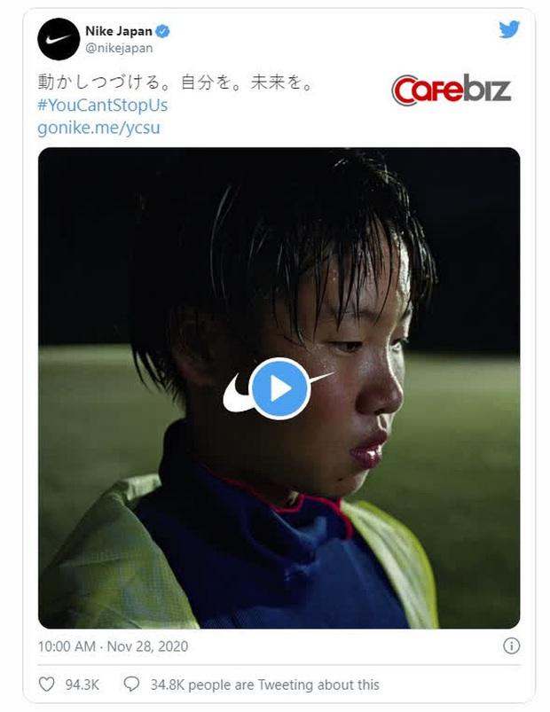 Video quảng cáo 16,3 triệu lượt xem của Nike Nhật Bản vừa tạo ra một thảm họa: 50.000 lượt 'dislike', bị xem như tội đồ, vướng làn sóng tẩy chay trên diện rộng - Ảnh 2.