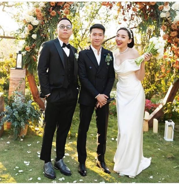Tóc Tiên bất ngờ có chia sẻ gây chú ý về đám cưới Công Phượng, tiết lộ loạt điểm trùng khớp của 2 cặp vợ chồng son - Ảnh 3.