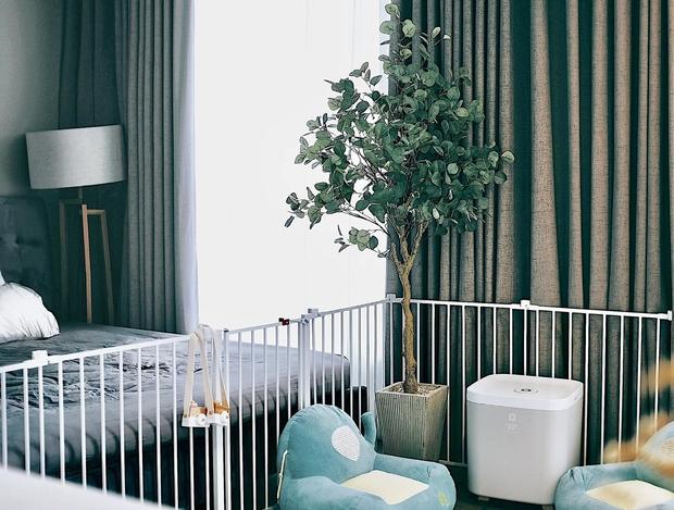 Căn hộ Vinhomes của nhà thiết kế nội thất: Tông màu xanh là lạ nhưng lên hình đẹp từng cm, sống ảo thì cực mê - Ảnh 11.