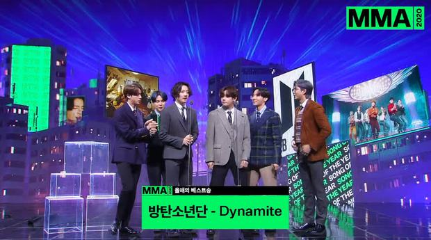 Tổng kết lễ trao giải MMA 2020: BTS đạt All-kill Daesang, BLACKPINK không góp mặt cũng đạt 2 giải thưởng - Ảnh 2.